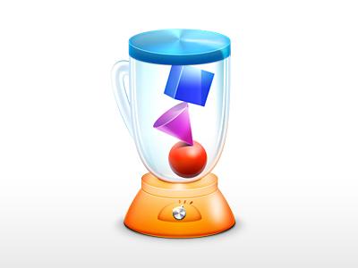 Blender Icon blender app icon redesigned