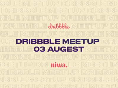 Dribbble meetup in Oran