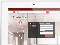 Website design for a digital agency