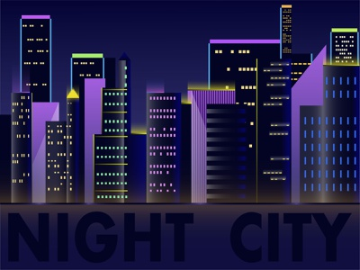 Business center. Night in the big city. crowded construction concept community center business built banner background architecture apartment abstraction website skyline horizon panorama city skyline city night city high-rise building