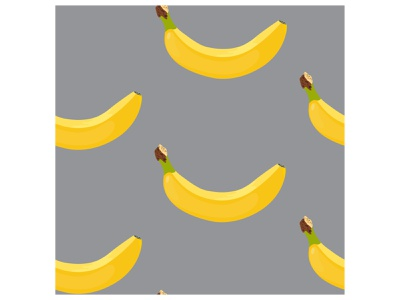 Yellow bananas on gray background repeat concept decoration fashion fabric backdrop textile tasty plant nature pattern grey yellow background abstract organic sweet tropical banana bananas seamless
