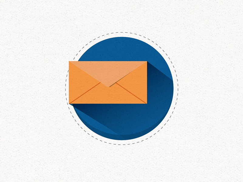 Email animation illustration motion