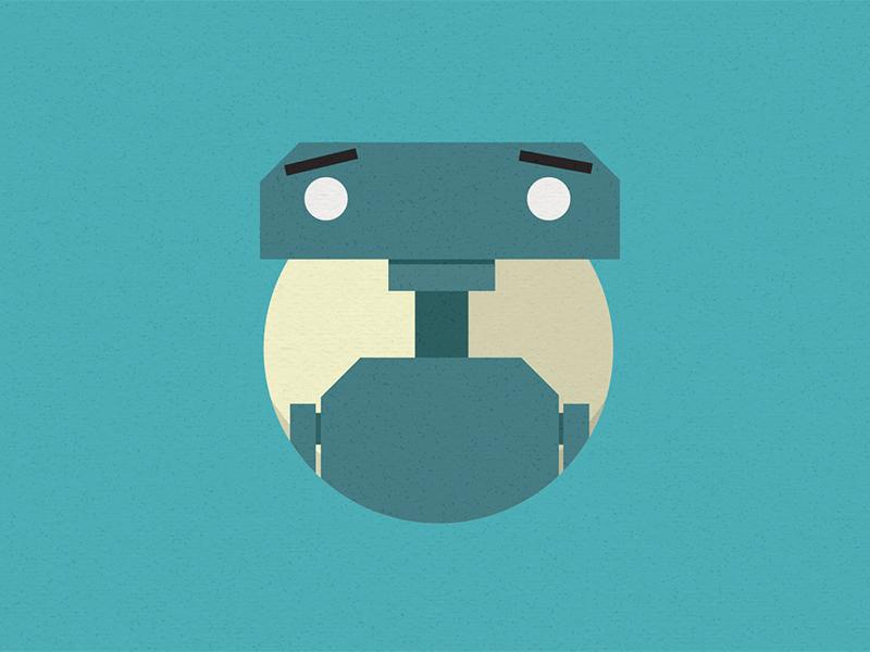 Robot explainer video animation illustration motion
