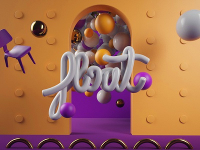FLOAT 3d artist bubble modeling floating cinema4d 3dart 3d