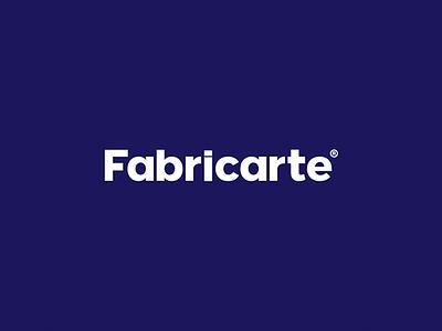 Fabricarte® identity. branding brand logo design fabricarte logotype type logo