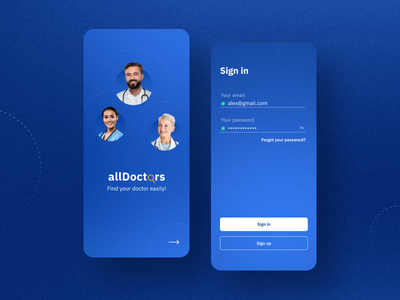 Medical App UI design medical care uidesign medical app ui app design