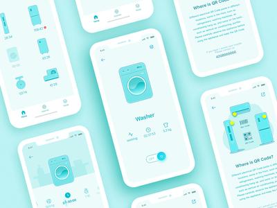 Smart Home App - iPhone X homeuser design uiux appliance-industry smart