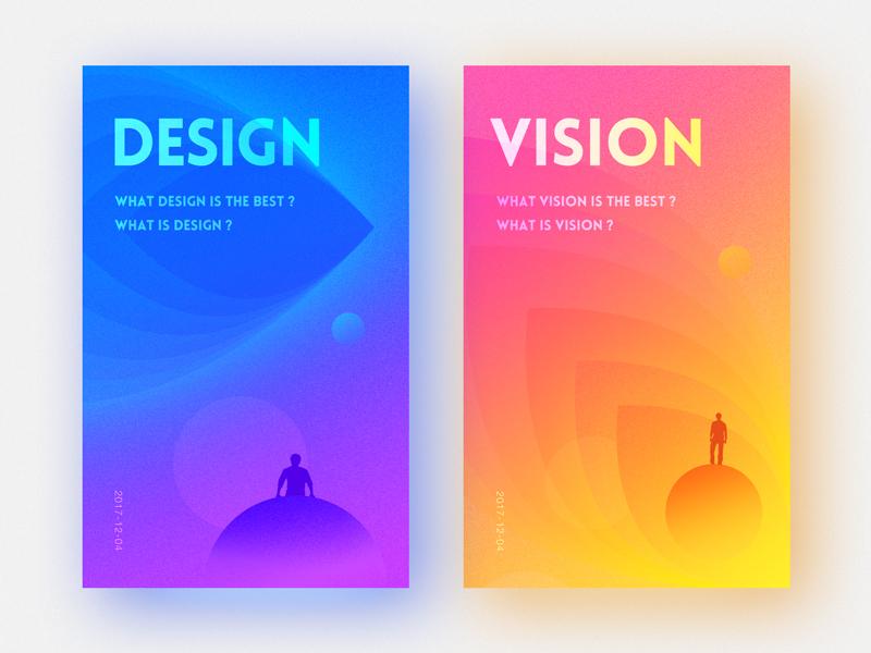 DESIGN or VISION vision design color vi