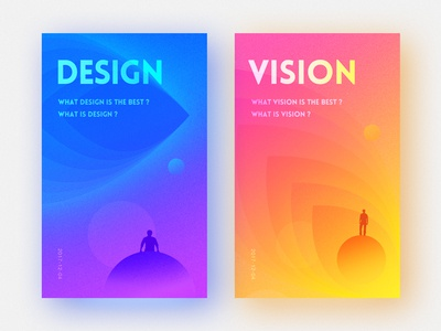 DESIGN or VISION vision design color vi