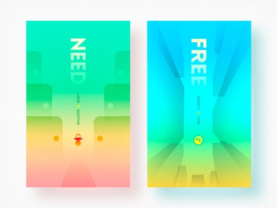 NEED & FREE time job vision design color vi
