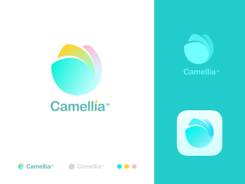 Camellia-Icon team design ux app ui vi color logo icon