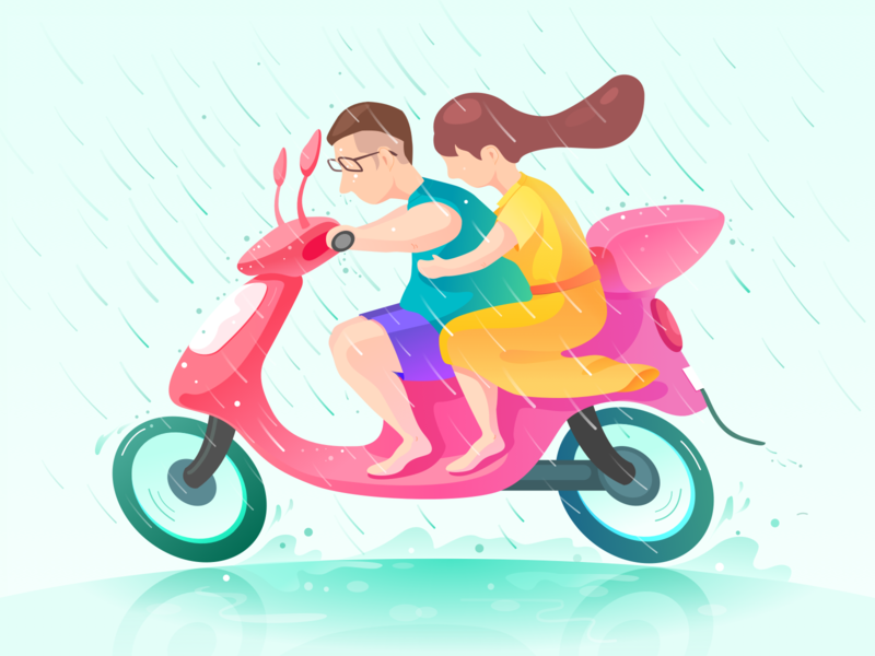 The Age Of Struggle love job illustration