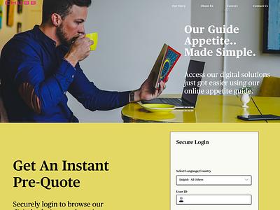 Chubb Insurance Guide Landing Page