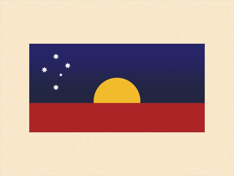 Australia Day - Invasion Day republic flag australia aboriginal