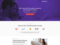 OTP Finance Landing Page