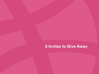 2 Invites to Give Away 🏀 dribbble dribble giveaway invite player draft