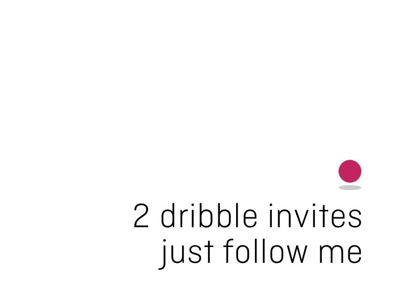 🏀 Dribble Invite player invite dribble dribbble draft 🏀