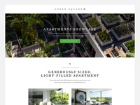 Property Apartments/Development Landing Page