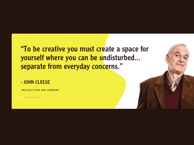 UI - Quote john cleese quote 100days 100 daily ui