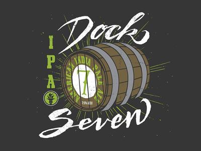 Indiana City Beer Branding -Dock 7
