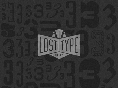 Lost Type Store Tiled Background design