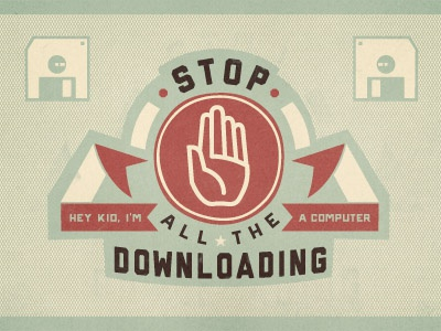 Downloading dribbble