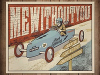 MeWithoutYou Gig Poster