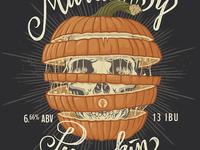 Indiana City Beer Brand - Murder By Pumpkin
