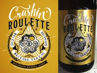 Indiana City Beer Brand - Crushin' Roulette