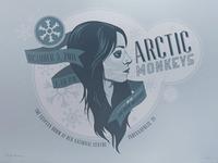 Arctic Monkeys - ONLY A FEW LEFT!