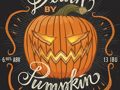 Indiana City Beer Brand - Death By Pumpkin - 2016 Update