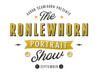 Ronlewhorn Portrait Show Branding