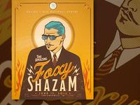 Foxy Shazam Gig Poster