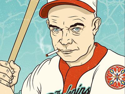 Dollar Shave Club Presidents - Dwight D. Eisenhower illustration portrait