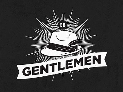 Gentlemen Branding branding logo fedora