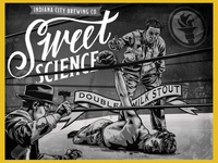 Sweet Science - Indiana City Beer Label