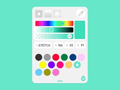 Orignal Color Picker design concept inspiration sketch rgb hex colour picker color