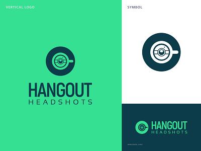 Hangout Headshot minimal logo design logo inspiration logoideas eye catching logo minimalist logo lineart branding design brand identity logo celebrety logo coffee logo photography logo branding graphic design logo design