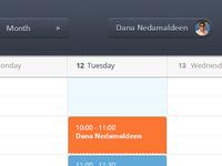 Calendar Webapp
