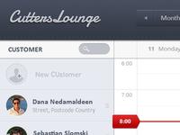 Cutters Lounge Calendar App