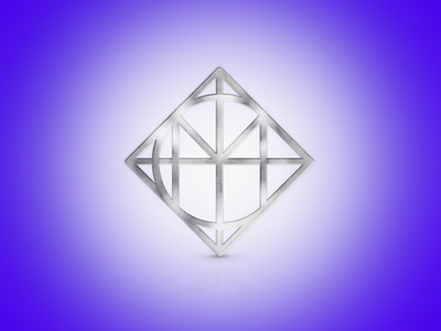Metal Logo  logo design identity brand visual metal mock up