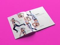 Lookbook of luxury sportswear Jogha