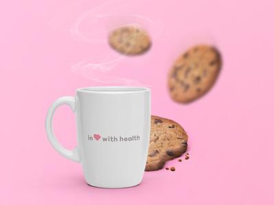 Brand context  logo identity brand tea cookie health mind healthy pleasures art direction design