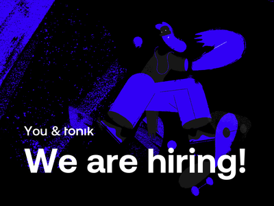 You & Tonik — Hiring Product Designers work remote product design tonik product designer hiring ui ux