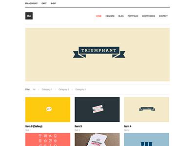 Bucko WP Theme clean minimal multipurpose portfolio wordpress theme