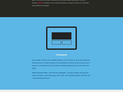 Website website personal clean minimal freelance