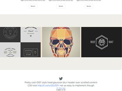 UberFramework Shot 3 wordpress theme template