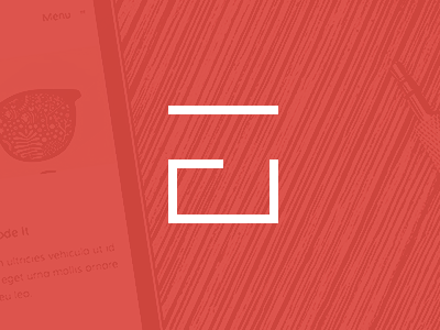 UF uberframework wordpress theme logo letters