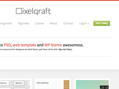 Pixelqraft v2m website design redesign freebies resources