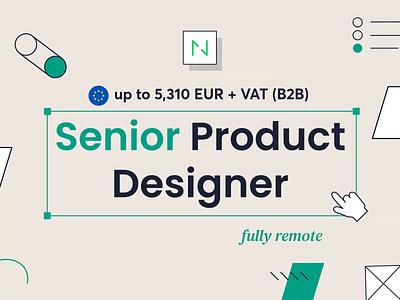Netguru is hiring! - Senior Product Designer offer job apply recruitment hiring designer product ux ui